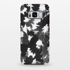 Galaxy S8+  Black Floral by Caitlin Workman