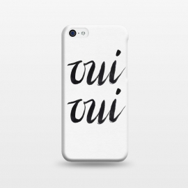 iPhone 5C  Oui Oui by Caitlin Workman