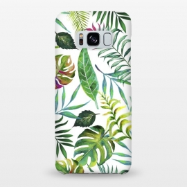 Galaxy S8+  Tropical Flora by Uma Prabhakar Gokhale
