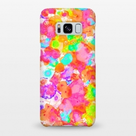 Galaxy S8+  Jellyfish Dreams  by Uma Prabhakar Gokhale (pattern, jellyfish, abstract, colorful, bold, bright, exotic, pink, blue, orange, coral, green, yellow)