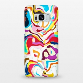 Galaxy S8+  Bipolar by Uma Prabhakar Gokhale (graphic design, pattern, graffiti, abstract, colorful, bold, random, modern, exotic, lines)