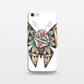 iPhone 5C  butterfly 5 by Evaldas Gulbinas