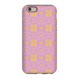 iPhone 6/6s  Indian Rose  by Stefania Pochesci (bohostyle,indian,batic,optical,rose,pink)