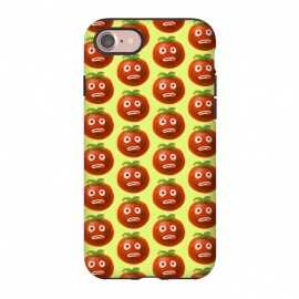 iPhone 8/7  Stressed Funny Cartoon Tomato by Boriana Giormova