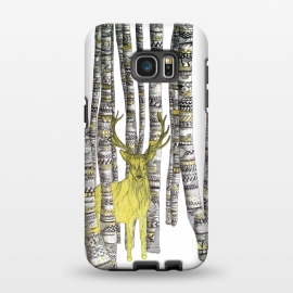 Galaxy S7 EDGE  The Golden Stag by ECMazur