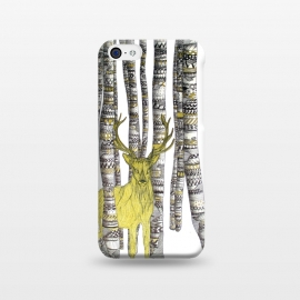iPhone 5C  The Golden Stag by ECMazur