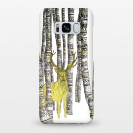 Galaxy S8+  The Golden Stag by ECMazur