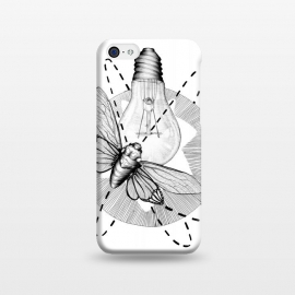 iPhone 5C  Moth to the Flame by Elizabeth Mazur