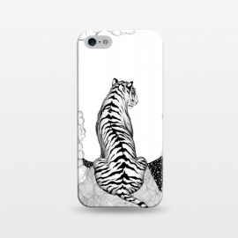 iPhone 5/5E/5s  Tiger Moon by ECMazur