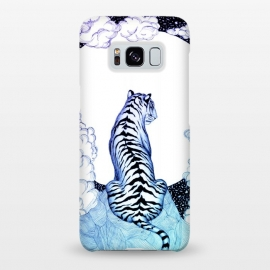 Galaxy S8+  Ombre Tiger Moon by ECMazur