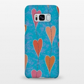 Galaxy S8+  Hearts by Nacho Filella Design
