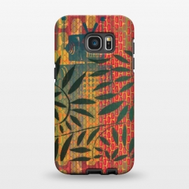 Galaxy S7 EDGE  Robot behind leaves by Nacho Filella Design