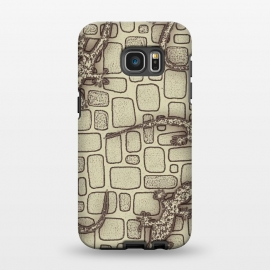 Galaxy S7 EDGE  Lizards by Nacho Filella Design