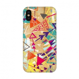 iPhone X  Tribal Arrows by Rachael Taylor ()
