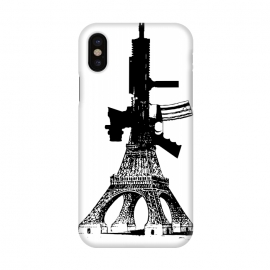 iPhone X  Eiffel Power by Brandon Combs ()