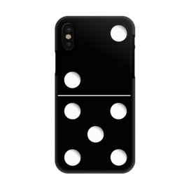 iPhone X  Domino by Nicklas Gustafsson (domino,game,funny,humor,childhood,play)