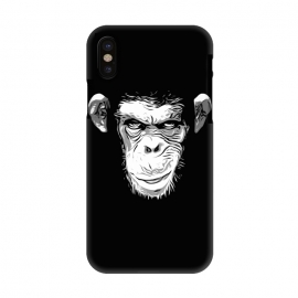iPhone X  Evil Monkey by Nicklas Gustafsson (monkey,ape,chimp,chimpanzee,animal,evil,grin,illustration)