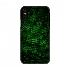 iPhone X  Reptile Skin by Nicklas Gustafsson (green,skin,reptile,alien,pattern,lizard,scales,snake)
