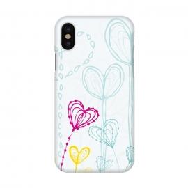 iPhone X  Love Garden  White by  ()