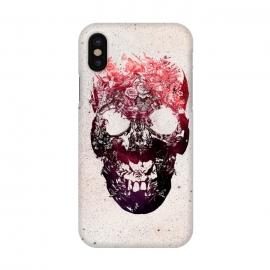 iPhone X  Floral Skull by Ali Gulec ()