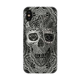 iPhone X  Lace Skull by Ali Gulec ()