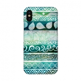 iPhone X  Dreamy Tribal by Pom Graphic Design
