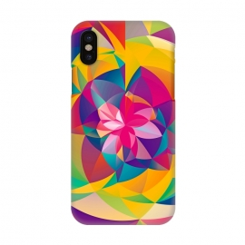 iPhone X  Acid Blossom by Eleaxart