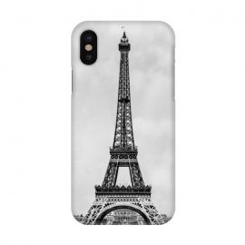 iPhone X  Tour Eiffel Retro by Bruce Stanfield ()