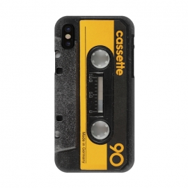 iPhone X  CASSETTE YELLOW by  ()