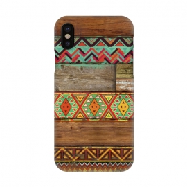 iPhone X  INDIAN WOOD by Diego Tirigall ()