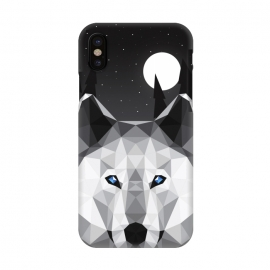 iPhone X  The Tundra Wolf by Davies Babies ()