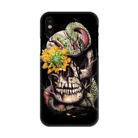iPhone X  Snake and Skull by Nicebleed ()