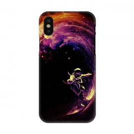 iPhone X  Space Surfing by Nicebleed ()