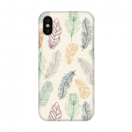 iPhone X  Feathers by TracyLucy Designs ()