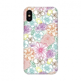 iPhone X  Bright Floral by TracyLucy Designs ()