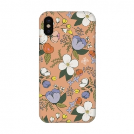 iPhone X  Floral Bouquet by TracyLucy Designs ()