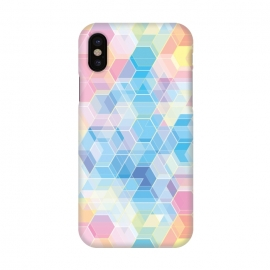 iPhone X  Hexagons by  ()