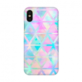 iPhone X  Pastel Aztec by  ()