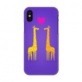 iPhone X  Couple in Love Purple by Philipp Rietz ()