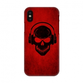 iPhone X  Skull by Philipp Rietz ()