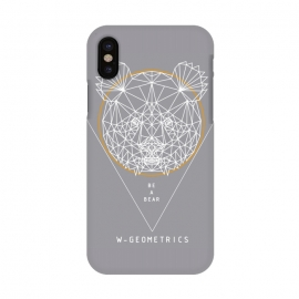 iPhone X  Bear by W-Geometrics ()