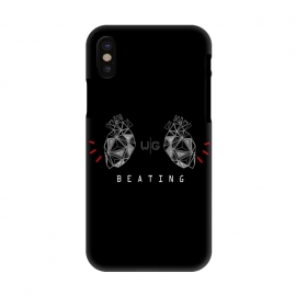 iPhone X  Hearts Black Capicúa by W-Geometrics ()