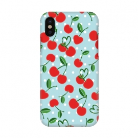 iPhone X  Cherries by Leska Hamaty ()