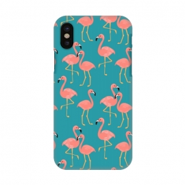 iPhone X  Flamingo by Leska Hamaty ()