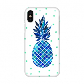 iPhone X  Maritime Pineapple by Amaya Brydon ()
