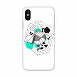 iPhone X  Abstract Geometry by Mitxel Gonzalez ()