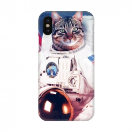 iPhone X  Astronaut Cat  by  ()