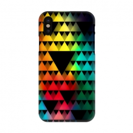 iPhone X  Triangular Pattern by Mitxel Gonzalez ()