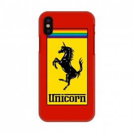 iPhone X  Unicorn by  ()