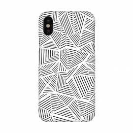 iPhone X  AB Linear White by Project M ()